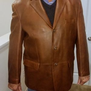 NWOT 🔥 MENS Leather Jacket